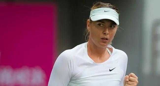 Ténis: Sharapova na primeira final pós-suspensão
