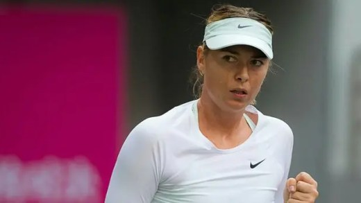 Maria Sharapova já tem adversária no regresso à Kremlin Cup