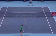 [VÍDEO] Dimitrov e Goffin jogam ponto BRUTAL na final das ATP Finals