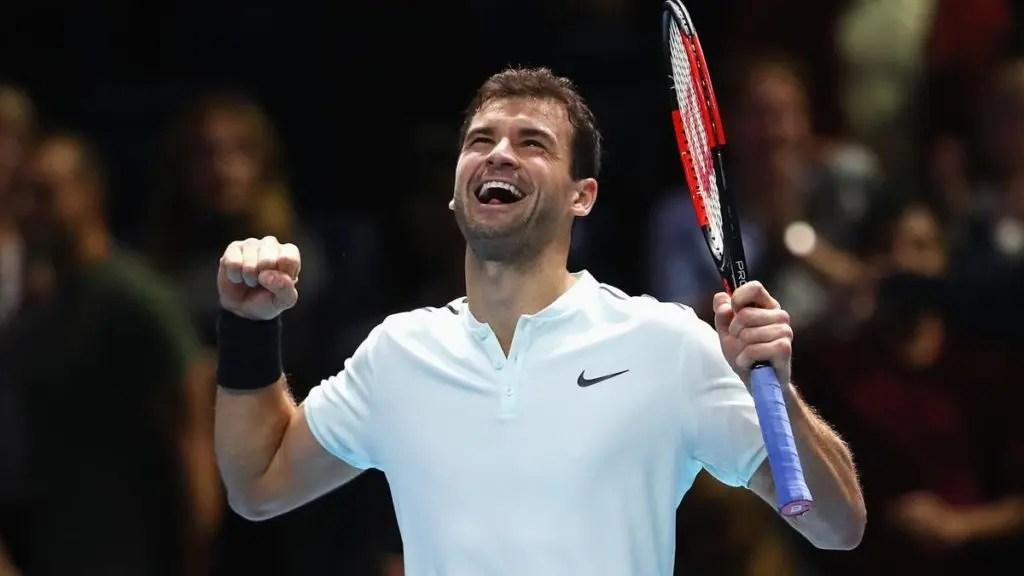 Dimitrov: «O meu objetivo era terminar no top 10 e agora já sou número 3. É fantástico!»