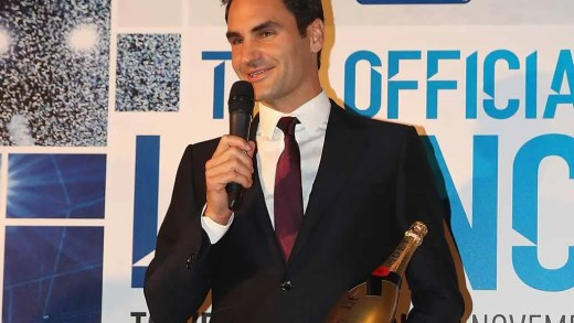 Federer divide prémio de Regresso do Ano com Nadal