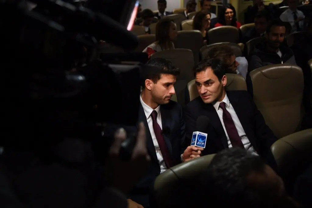 Federer sobre Dimitrov: «Ele sente que merece estar no topo»