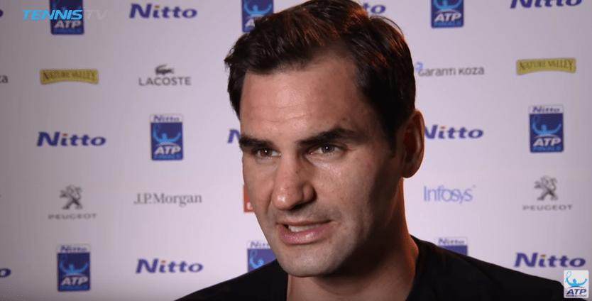 Lances de Roger Federer 2 x 1 Alexander Zverev — ATP Finals