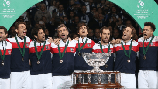 Recorde. Oito tenistas diferentes contribuíram para o título da França na Taça Davis em 2017