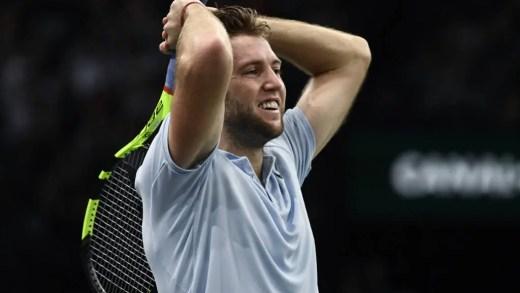 Jack Sock põe fim a série impressionante de tenistas europeus