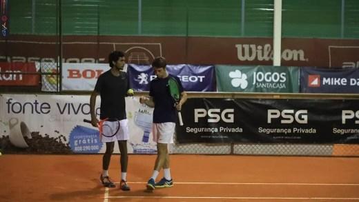 Bernardo Saraiva e Nuno Deus sagram-se campeões nacionais absolutos de pares masculinos