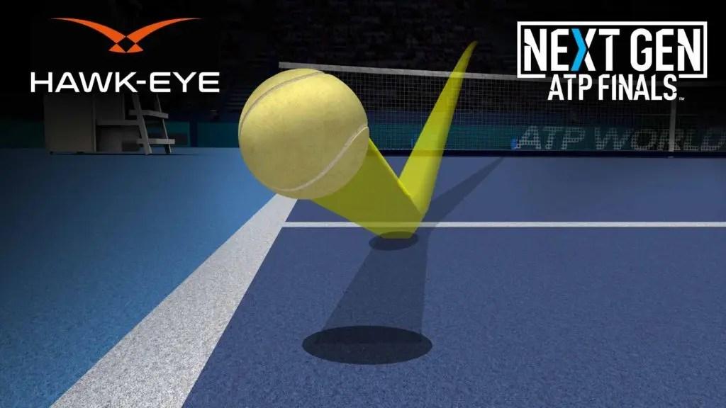 Más notícias para os juízes de linha: jogadores gostaram (muito) do olho de falcão ao vivo