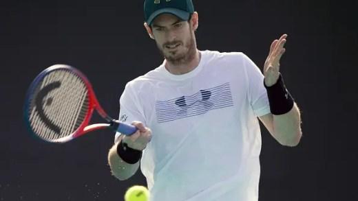 """Murray acompanha final de Sydney: """"Quem me dera ser tão crescido como o de Minaur num court de ténis"""""""