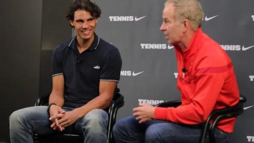 McEnroe e arma que ajudou Nadal a vencer o US Open: «Serve muito melhor»