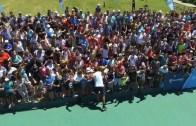 [FOTOS] Treino solidário de Del Potro junta mais de 1000 pessoas