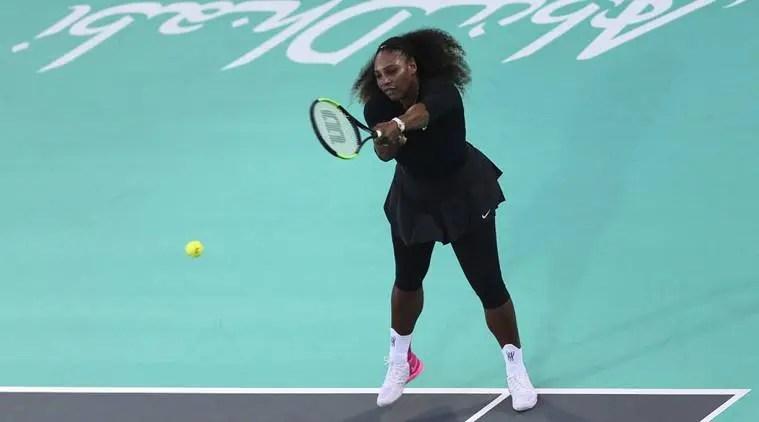 Depois de exibição em Abu Dhabi, Serena Williams não dá garantias sobre participação no Open da Austrália