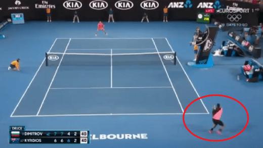 [VÍDEO] Nick Kyrgios e a direita mais veloz do Australian Open…