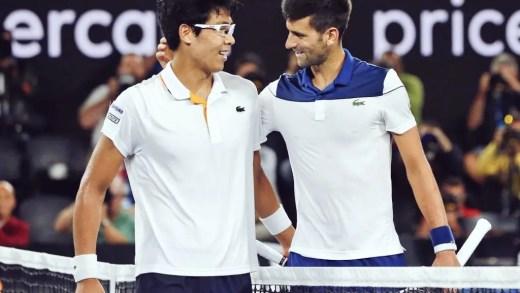 Hyeon Chung: «Tentava copiar o Novak, porque ele é o meu ídolo»