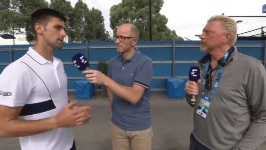 [VÍDEO] Becker e Djokovic reencontraram-se em Melbourne: «O ténis não é a mesma coisa sem ti»