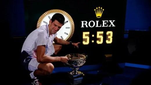 Novak Djokovic recorda final de seis horas e deixa mensagem a Rafa Nadal