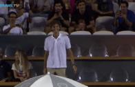 [VÍDEO] Guga Kuerten aclamado nas bancadas do Rio Open