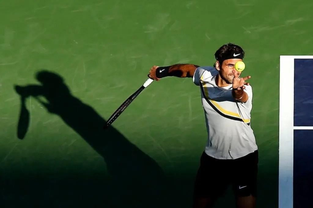 Federer está nos quartos e encontra o tenista sensação — Indian Wells