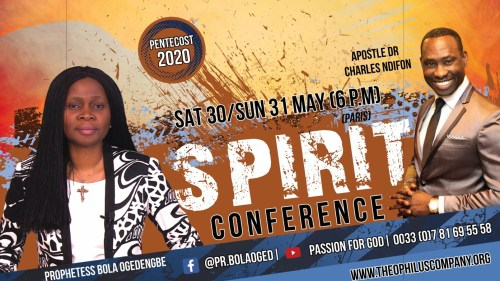 CONFERENCE ESPRIT DRCHARLES NDIFON/ PS BOLA OGEDENGBE