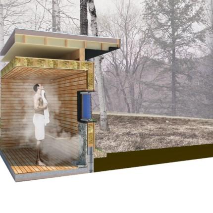sauna pavillionR