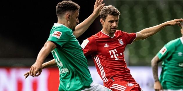 Bayern Múnich vs. Werder Bremen EN VIVO vía TV AZTECA: VER GRATIS EN  DIRECTO por la Bundesliga | Bolavip
