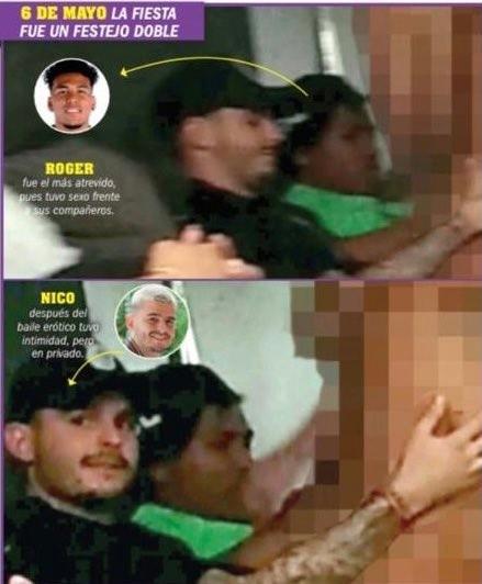 Escándalo en México: Roger Martínez y Nico Benedetti, sorprendidos en fiesta  hot