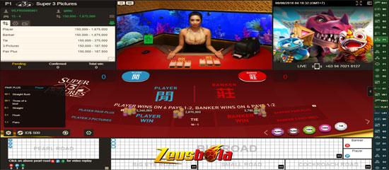 Cara Bermain Super 3 Picture Live Casino