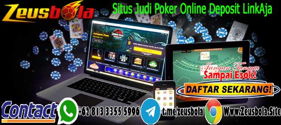 Situs Judi Poker Online Deposit LinkAja