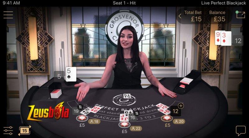 Cara Bermain Blackjack Online Live Casino Agar Menang