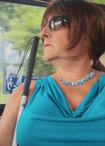 carla on bus