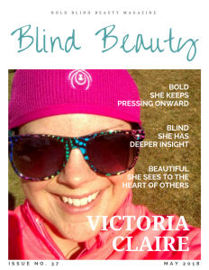 Blind Beauty Issue 37 Featured Image Description is in the body of the post.