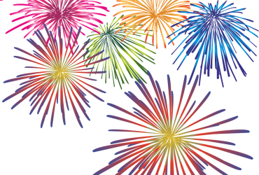 Fireworks image is described in the body of the post