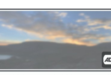 The header image is a movie screen with a sunset and the audio description symbol(a square image with black letters AD followed by a few end parentheses, suggesting a sound wave, are framed by a black television set shape)in the lower right corner
