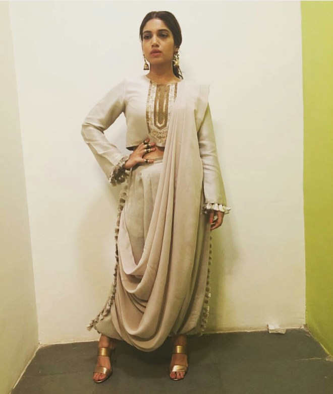 Indo-western look