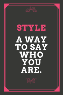 STYLE QUOTE