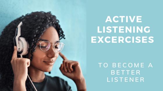 Active listening excercises