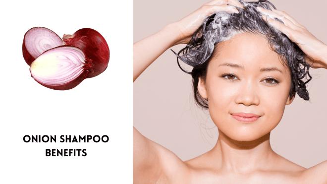Onion shampoo benefits