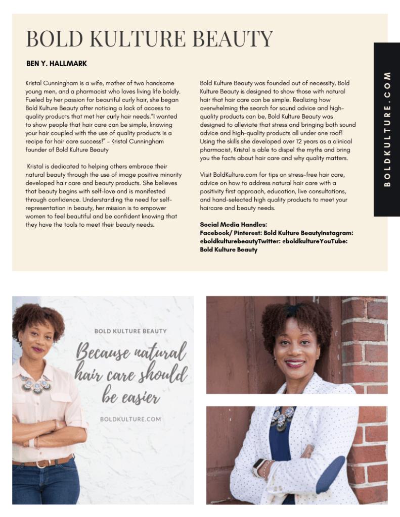 Bold Kulture Beauty Business Spotlight