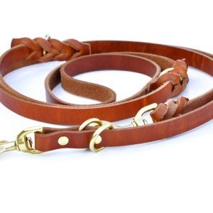 8-Way Lead™ - 6 ft. versatile leather leash