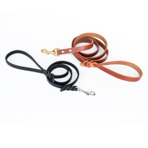Traditional Lead - premium leather dog leash