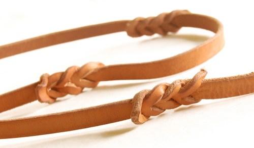 Easy Grip Lead™ the best custom braided leather dog leash