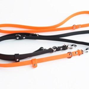 Brahma 8-Way Lead™ - 6 ft. multi-functional vegan dog leash