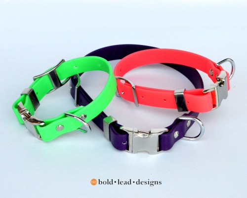 BLD's Quick Release Brahma Dog Collar™ (vegan & waterproof)