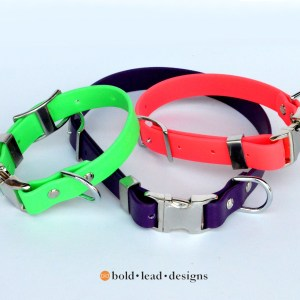 BLD's Quick Release Brahma Dog Collar™ (vegan & waterproof)
