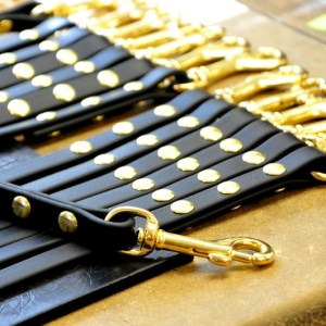 SPECIAL OFFER: 6 FT. Brahma Leads with brass (vegan)