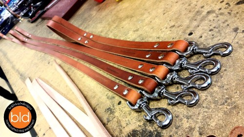 SPECIAL OFFER: Heavy-weight bridle leather dog leash