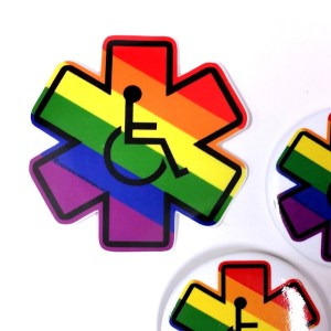 Disability Pride LGBTQIA - Disability Pride Buttons and Stickers