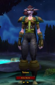 My very first WoW character