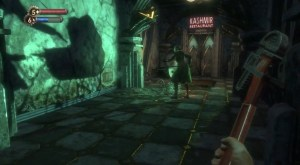 Don't ever trust a baby stroller in Rapture. Not in Bioshock and not in Burial at Sea.