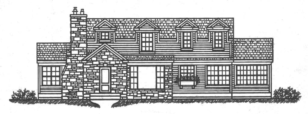Mount Curve Second Floor Addition Sketch