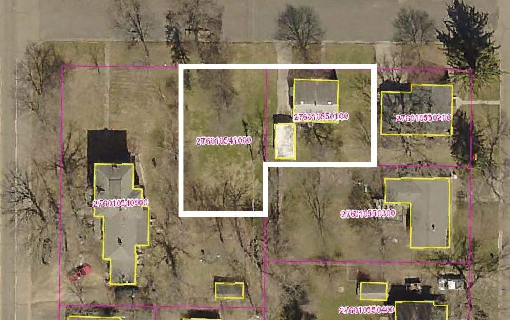 GIS-lot outline
